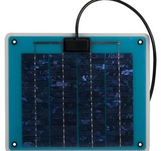 Solar Trickle Charging Vehicle Batteries