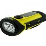 Secur Sp-1002 solar & dynamo flashlight