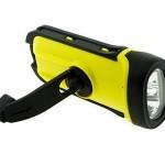 Solar/Dynamo/Waterproof LED crank