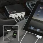 Quad Power Hub 9.6 vehicle usb ports