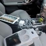 DC LINK 2.4 vehicle USB 12v power hub