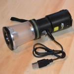 Dynamo USB Lantern/Flashlight kit