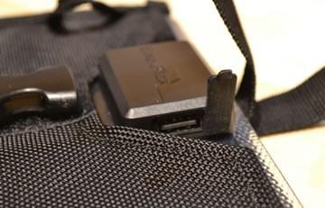 Kickr I solar panel USB port