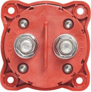 Red 1 Ckt On-Off Key Knb Blue Sea Systems Mini Batt Sw