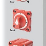 m-Series Mini On-Off Battery Switch mounting options