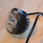 12W LED Spotlight 630lm side