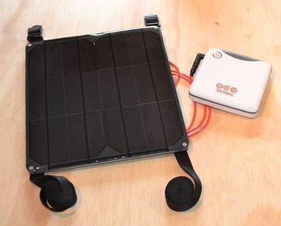 Nepal 9 & Kayak 9 solar charger kit