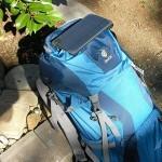 UltraLight 3 solar panel backpack