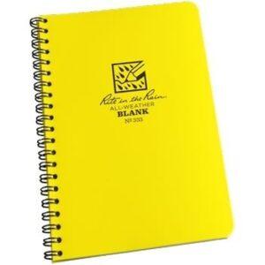 Rite in the Rain 333 : Weatherproof Spiral Notebook - Blank