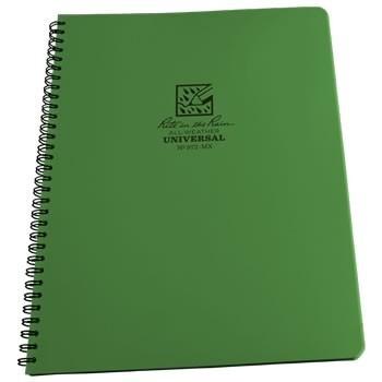 Rite In The Rain 973-MX : Weatherproof Maxi Notebook - Universal/Green