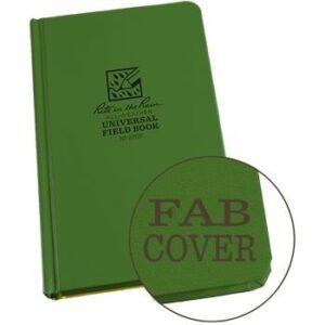 Rite in the Rain 970F : Weatherproof Bound Notebook - Universal/Green