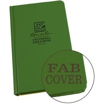 Rite in the Rain 970F : Weatherproof Bound Notebook - Universal/Green