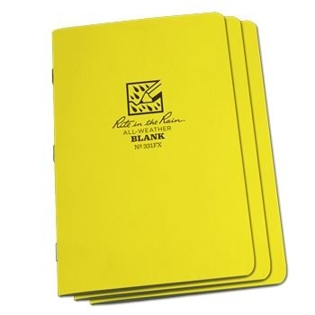 Rite in the Rain 331FX : Stapled Notebook (Blank)