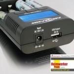 Ansmann Powerline 4 Pro input & output ports