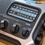Kaito KA550 radio analog dial
