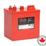 Rolls EHW-220 : 6V, 220AHr, Golf Cart Battery