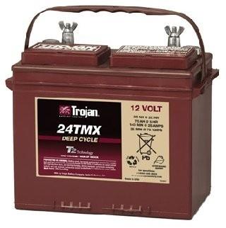 Trojan 24TMX : 12V, 94AHr Deep Cycle