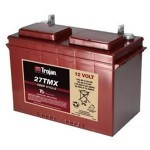 Trojan 27TMX : 12V, 128AHr Deep Cycle