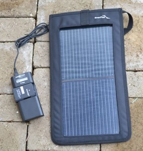 solar camera charger kickr2 and pl vario