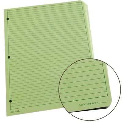 Rite in the Rain 982-mx green loose leaf