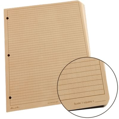 Rite In The Rain 982t-mx loose leaf binder paper