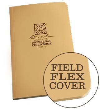 Rite in the Rain 974T tan field flex notebook