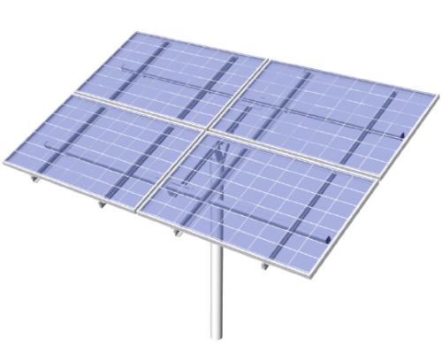 4-module pole mount