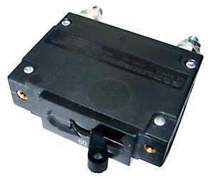 MNEDC 150V DC panel mount breaker