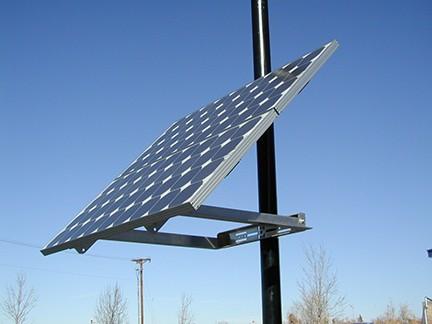 DPW side of pole mount