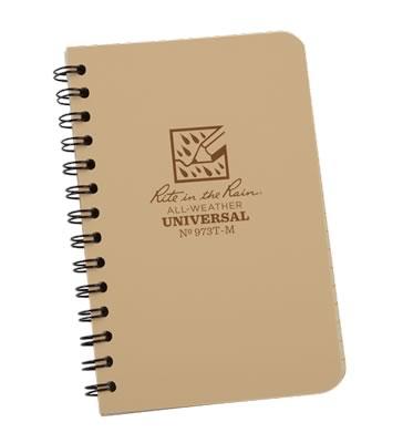 rite in the rain 973t-m mini spiral notebook