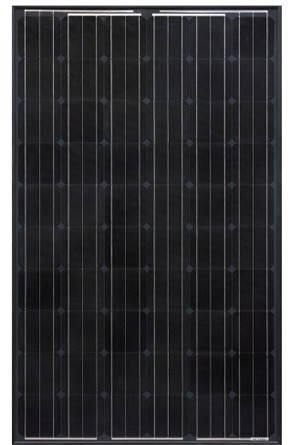 265w Hanwha Q Pro G4 Solar Panel Black Modern Outpost