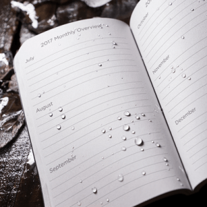 rite in the rain rc2017 pocket calendar planner