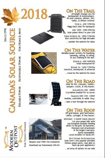 2018 canada solar guide cover