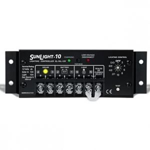 morningstar sunlight 10 12v solar charge controller