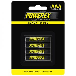 maha powerex MHRAAAP4 aaa battery 1000