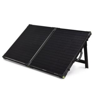 goal zero boulder 100 briefcase folding solar 32408