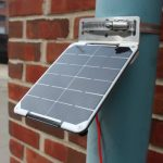 voltaic small solar panel mounting bracket pipe clamp