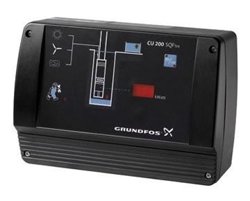 grundfos cu200 SQF pump control