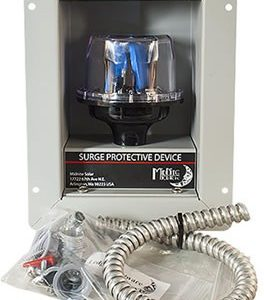 mnspd300ACFM surge protection with flush mount box