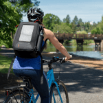voltaic converter 5W solar backpack bike