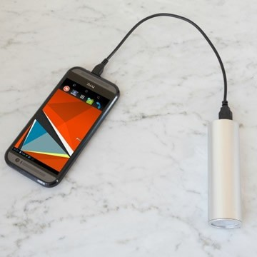 voltaic shine charging smartphone