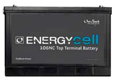 outback energycell 106nc nano carbon battery