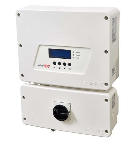 solar edge SE5000H-US hd-wave string inverter