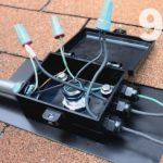 quick mount pv qbox j-box roof transition