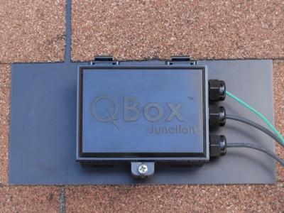 quick mount pv qbox j-box roof