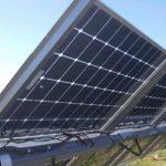 silfab sla-x bifacial solar installation