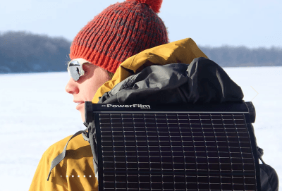 powerfilm lightsaver max solar charger winter