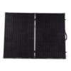 goal zero boulder 200 solar panel open