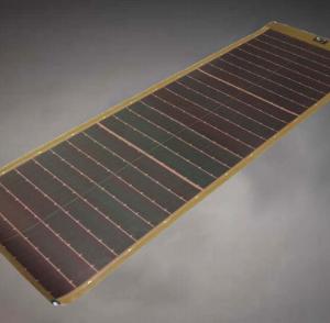 p3 80w solar module thin film cigs brown