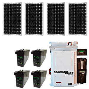 matrix magnum off-grid 4 solar kit